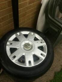 Vauxhall wheels x4 185/60/15