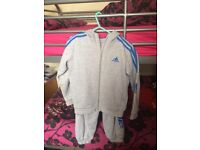 FULL ADIDAS BOYS TRACKSUIT - NEW