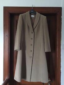 Eastex Long Wool Camel Coat - Never been Worn - 12