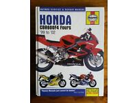 Haynes Manual Honda CBR600F4 Fours '99 to '02
