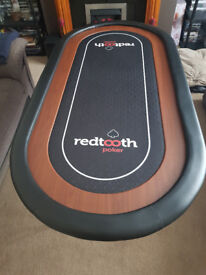 New Redtooth Poker Table ( 8-10 seater ) With 10 Chairs