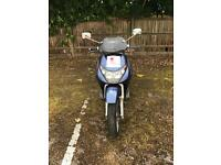 Piaggio Beverley 125 . 2003 , 12 month MOT , Starts and Drives ,