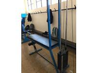 Leg curl / Leg extension machine