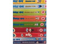 DVDs job lot 3. 9 Seasons Family Guy in total. £15.. Bargain.