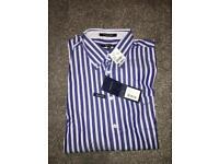 Men's Gant XL sea blue shirt
