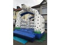 Lovely 101 dalmations bouncy castle commercial grade £495