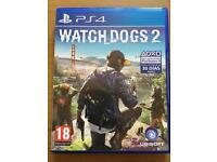 Watch Dogs 2 & Battlefield 1 PS4