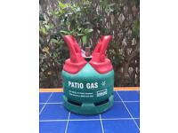 Empty calor patio gas canister 7.4kg