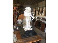 Cast Iron statue of Cupid (boy)