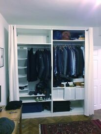 Large Ikea wardrobe - retail value £340 / 4 months old
