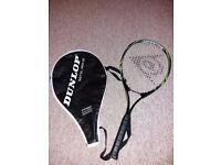 Child's Dunlop tennis racket
