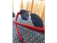 Prada Sunglasses/Shades/Aviators (RED+BLACK)