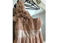 BRAND NEW blush pink maxi bridesmaid dresses