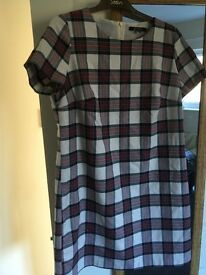 Tartan dress size 14