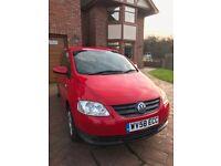 2008 [58] Volkswagen Urban Fox 1.2 in red. 57k miles. In very good condition.