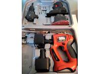 Black & Decker Quattro drill/driver