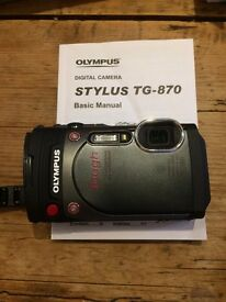 Olympus Tough 870 - Almost New