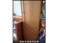 Mothercare nursery wardrobe