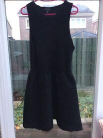 Black short Top Shop Dress Size 10