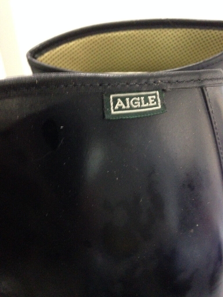 Or Brand New Rubber 9 Size Marks Riding Boots No As Aigle Black Wear zSZxwz1