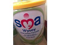 SMA wysoy infant formula 5 tins