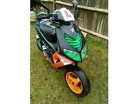 Peugeot speedfighter 100cc moped