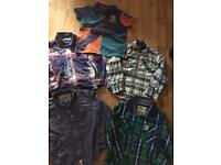 Large bundle of boys clothes, timberland, joules,tommy Hilfiger etc