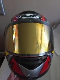 Motorbike HJC helmet