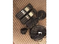 two bt phones with answering machine for sale £15 genuine reason
