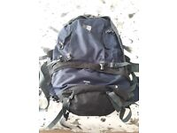 75 litre karimor backpack and smaller bag that zips on.Excellent condition