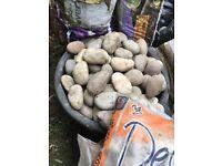 100 -150 cms Scottish cobbles bulk load