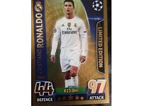 Champions league match attax cards, 2016.