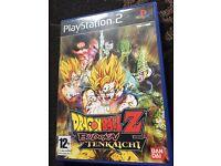 PS2 Dragonball Z Budakai Tenkaichi