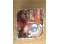 BRAND NEW Osram Nightbreaker H4 Laser Bulbs