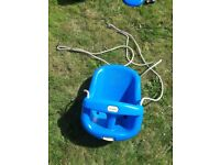 Baby/ toddler little tikes swing for sale