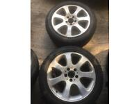 4 x Alloys and new tyres (Pirelli and Goodyear)