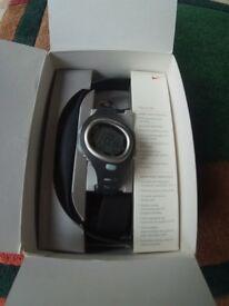 Nike Unisex Triax C6 Digital Watch / heart Monitor.