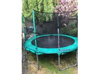 12 foot TP trampoline and Enclosure