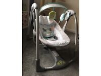Baby swing for sale, hardly used. £20