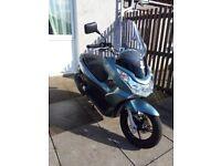 (SOLD) pending collection etc. HONDA PCX 125cc 13 Reg, Good condition. £1495 ono. Low Mileage.