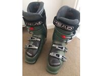 Head Women's Ski Boots and bag - Size 6