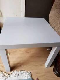 Ikea grey small coffee table