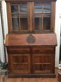Very old buerot with display cabinet top