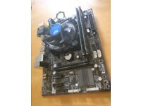 Used i5 4460 processor with Motherboard and 16 gb ddr3 Ram( Bundle)
