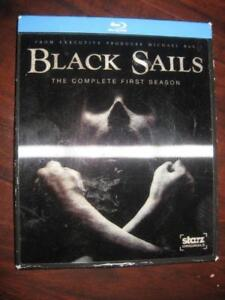 Black Sails: Season 1 (Blu-ray DVD Movie). Action and Adventure. Zach McGown. Luke Arnold. Jessica Parker. Pirate