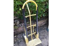 Sack barrow, metal with pump up tyres. Used.