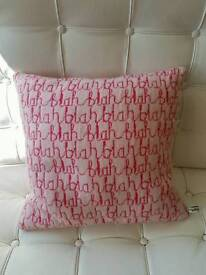 Wool cushion