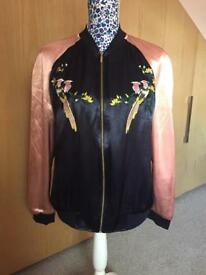 Brand New Embroidered Jacket - Size 14