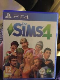 I am selling the Sims4 on PS4, it is brand new, never used!