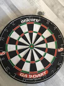 Unicorn brand New Dartboard